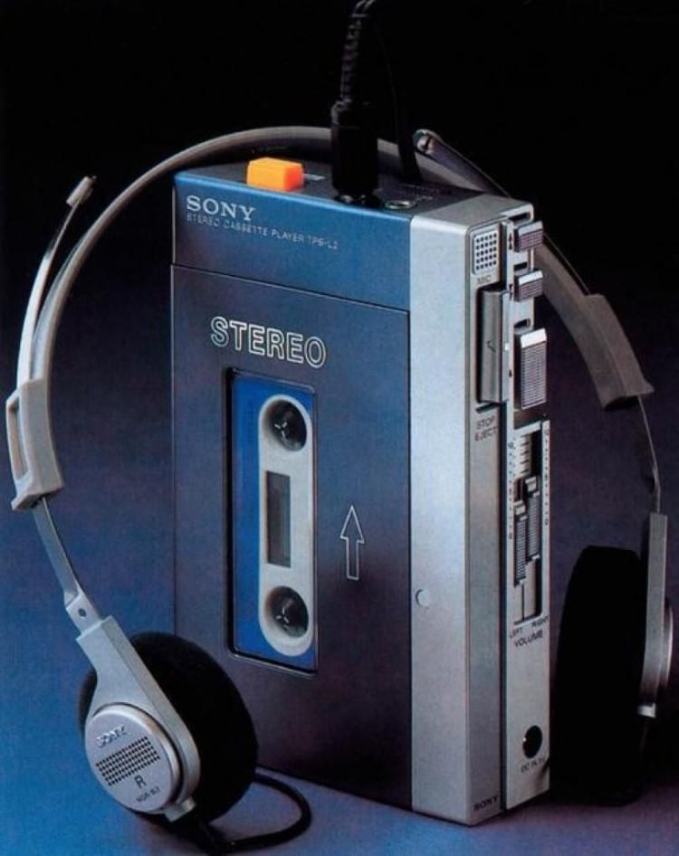 Player Sony Walkman TPS-L2