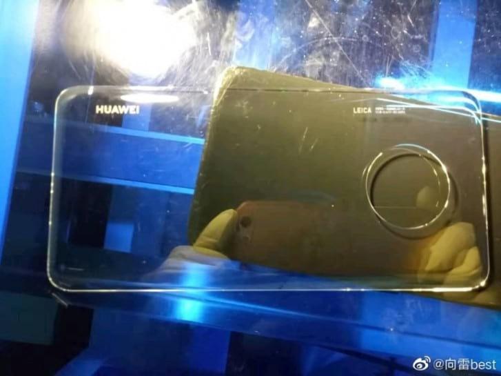 Mate 30 Pro pode contar com parte traseira de vidro, além de organização de câmeras em formato de círculo.