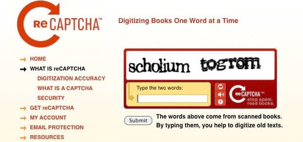 O que é reCAPTCHA e como funciona?