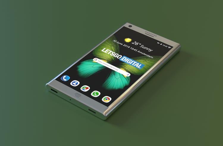 Na versão compacta, o smartphone é tão bem pensado que não parece ser retrátil.