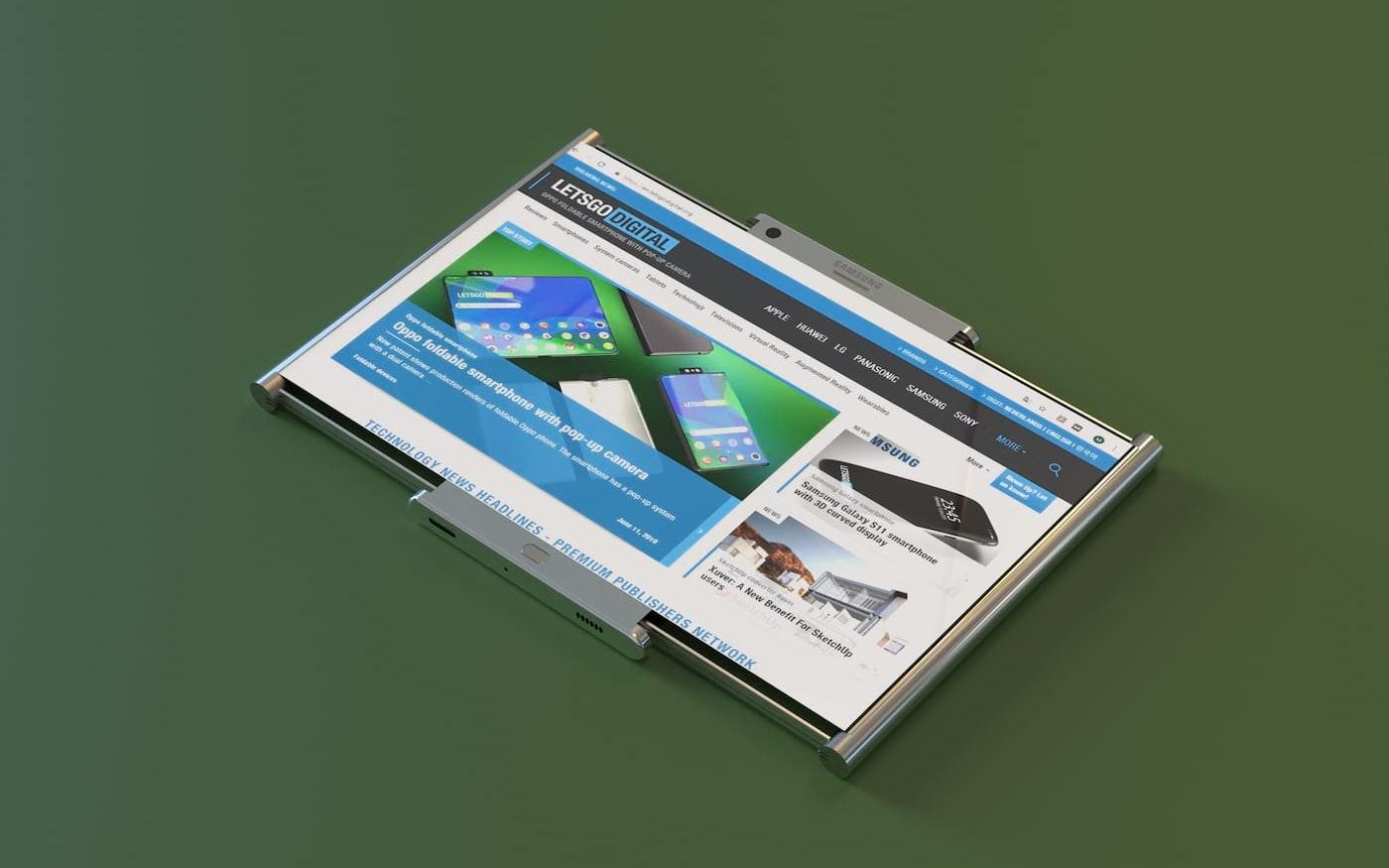 Samsung deve trabalhar em novo aparelho ainda mais inovador que Galaxy Fold