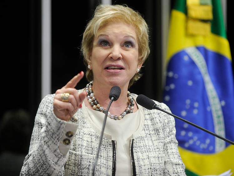senadora Marta Suplicy (MDB-SP)