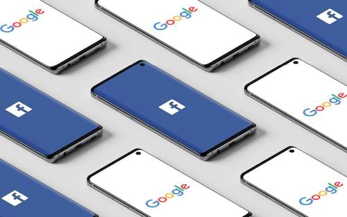 Google e Facebook sob nova investigação por monopolizar o mercado de publicidade