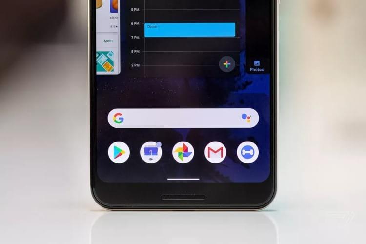Sistema de gestos no Android Q