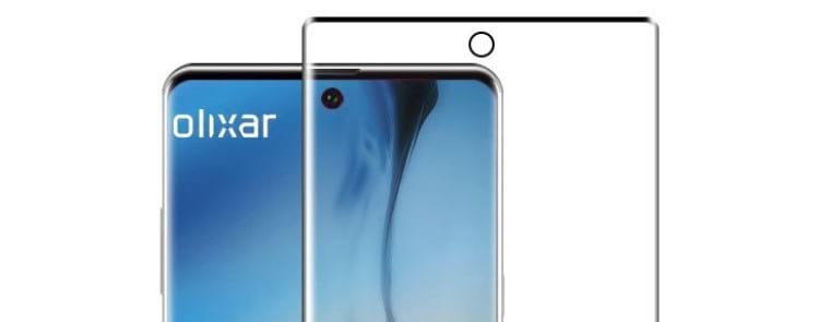 Pelicula da parte frontal do Galaxy Note 10