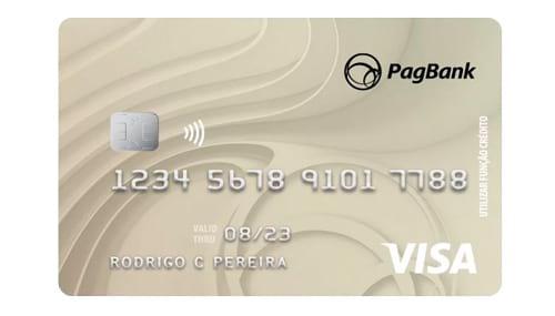 Apesar da parceria PagSeguro Visa já ser oficial, os dados que aparecem no site hoje, mostram ainda a cobrança de R$12,90 e a bandeira MasterCard
