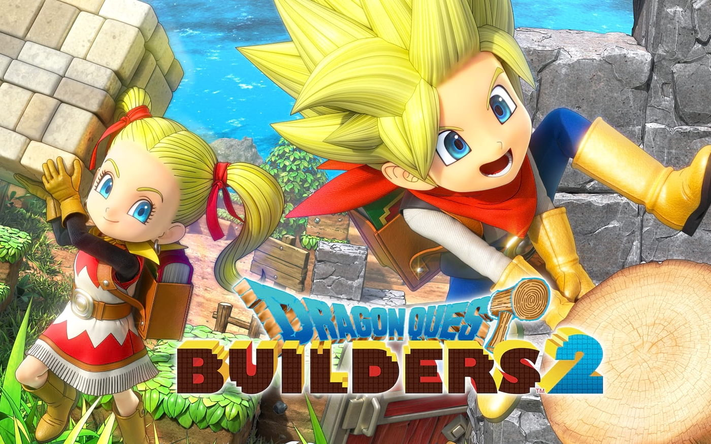 Dragon Quest Builders 2 e God Eater 3 são dois dos lançamentos dessa semana