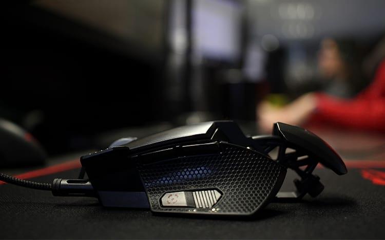 Mouse com os LEDs desligados