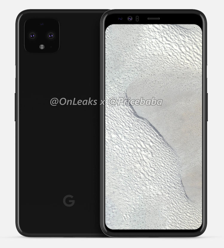 Pixel 4 poderá conter câmera dupla frontal e bordas largas.