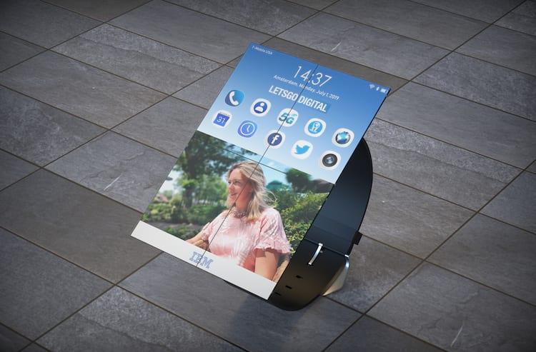 Smartwatch na versão smartphone.