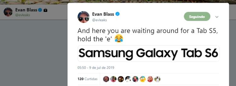 Evan Blass mais uma vez noticiou antes de todos...