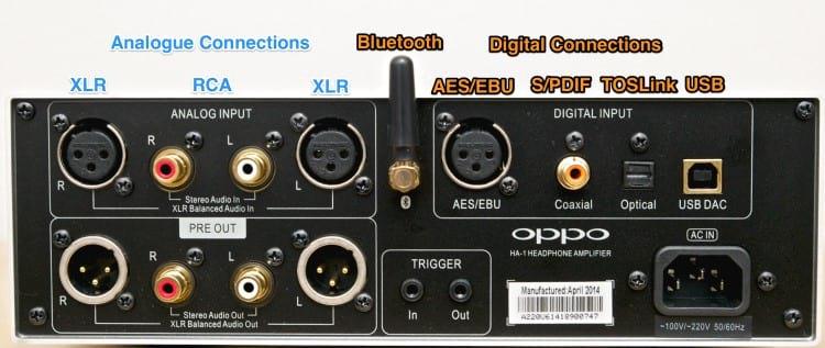 Conexões analógicas e conexões digitais