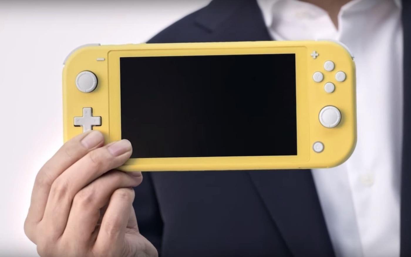 Nintendo Switch Lite é anunciado e chegará por US$200
