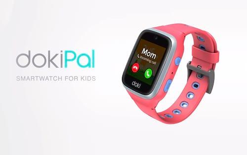 DokiPal 4G LTE: Smartwatch para crianças possui assistente de voz AI e chamada de vídeo