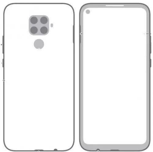Imagem vazada em junho mostra modelo Mate 30 Lite da Huawei.