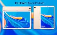 Huawei MediaPad M6 de 10,8 polegadas já está disponível no mercado chinês