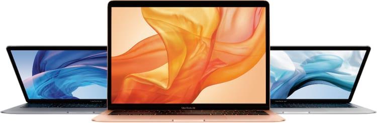 MacBook Air contará agora com True Tone.