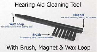 Hearing Aid cleaning tool