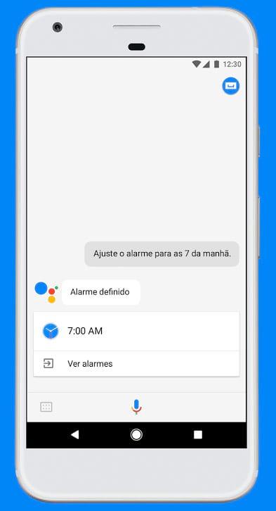 Assistente Google tem as mesmas funções do Google Home, mas funciona no smartphone da empresa.