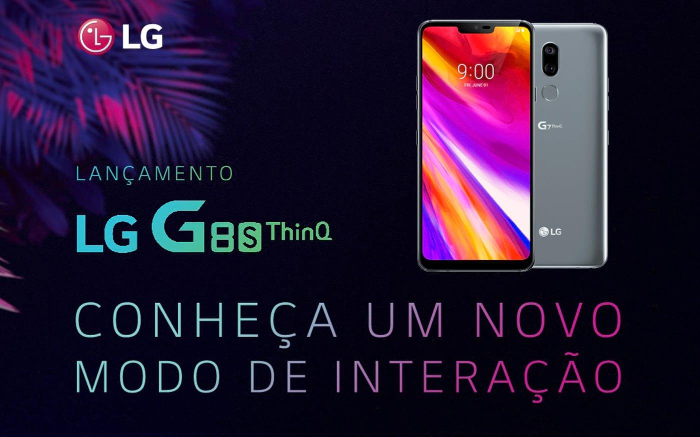 LG vai lançar no dia 24 de julho o LG G8s no Brasil
