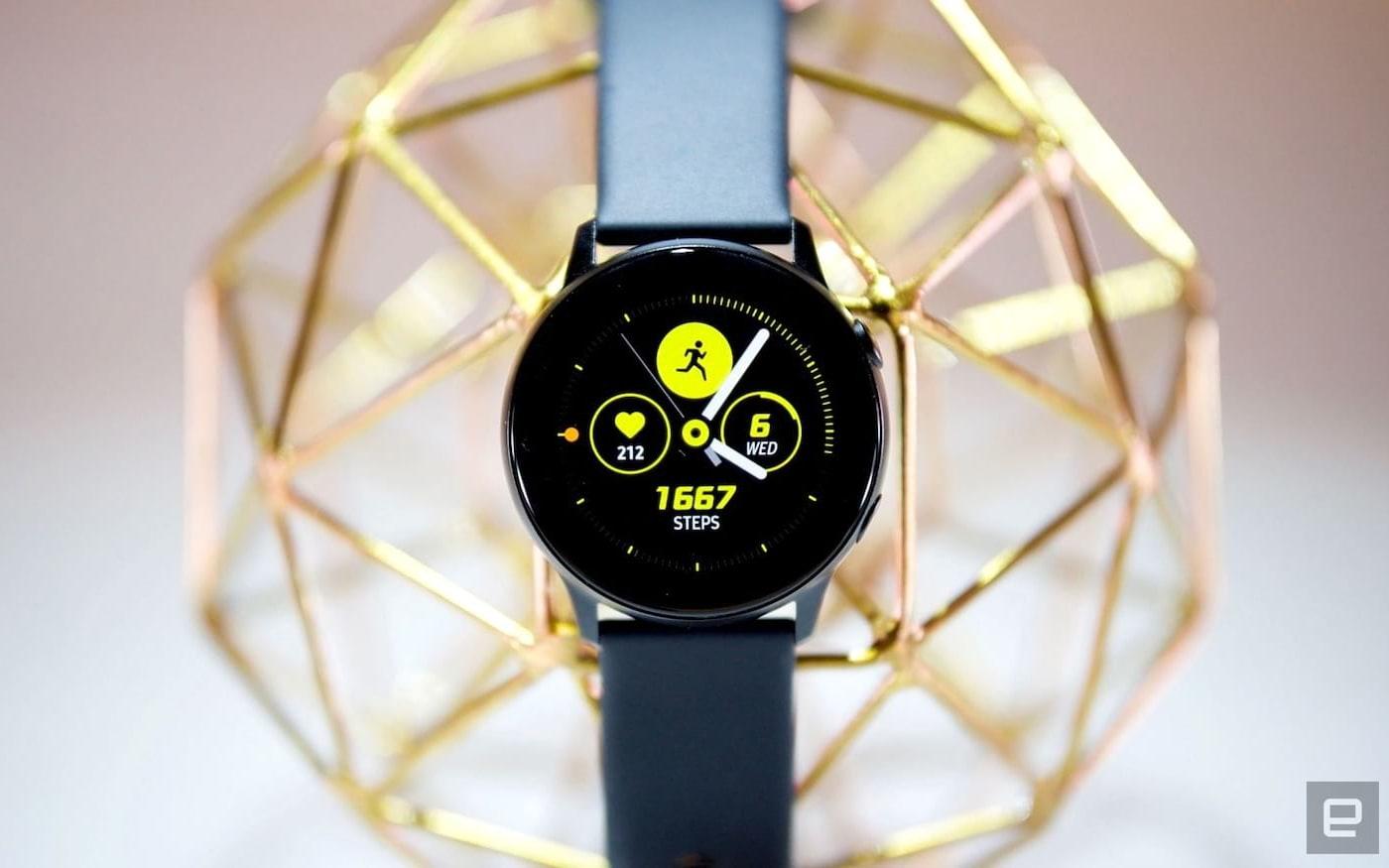 Vazam imagens e especificações do Samsung Galaxy Watch Active2
