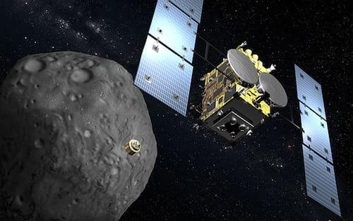 Sonda japonesa Hayabusa2 trará à Terra material coletado do asteróide Ryugu