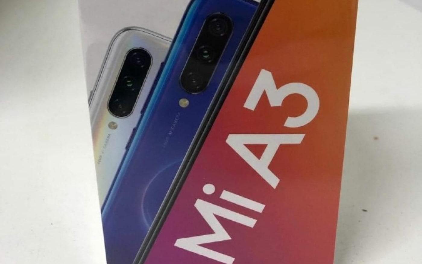 Fotos de unboxing do Mi A3 confirma processador Snapdragon 665