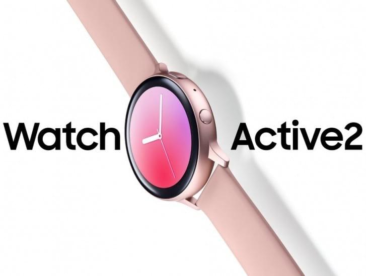 Watch Active2 da Samsung aparece na cor rosa em nova renderização.