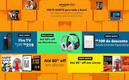 Amazon Day: 48 horas de ofertas imperdíveis!