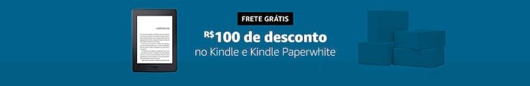 Amazon Kindle com frete grátis e e-books com até 80% de desconto