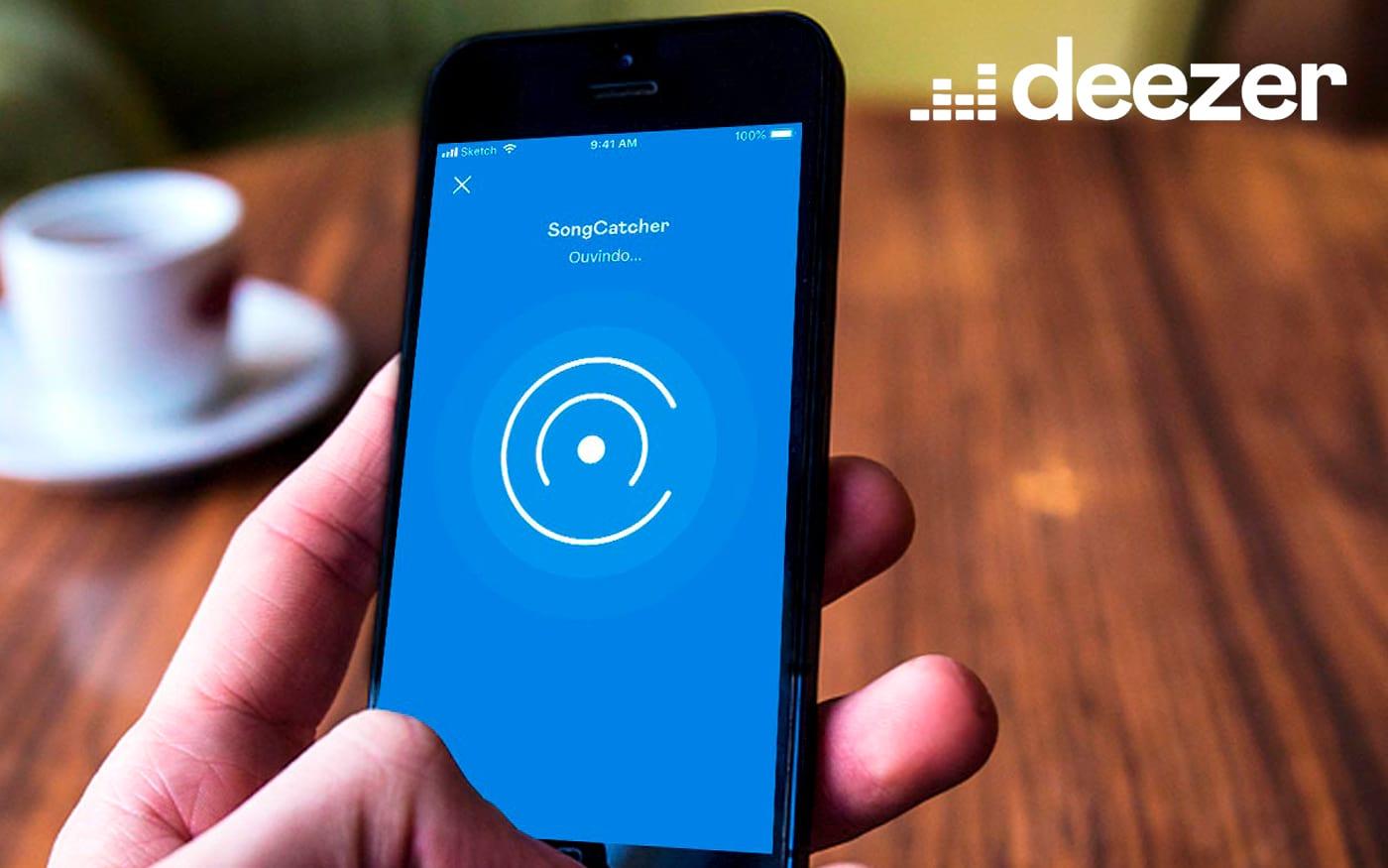 Usuários de iOS agora podem descobrir músicas tocadas em café, no carro, na TV e onde for com o SongCatcher da Deezer