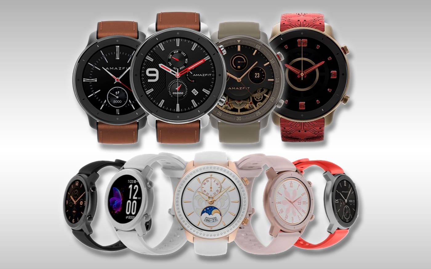 Xiaomi Huami anuncia nova linha de smartwatches Amazfit GTR