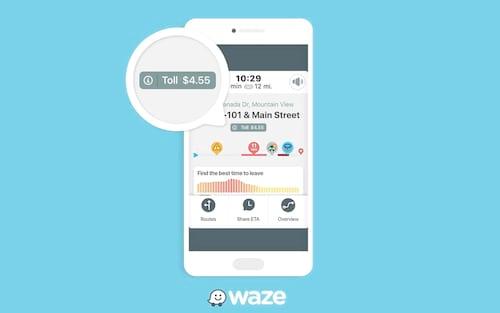 Waze lança recurso que mostra preço de pedágios