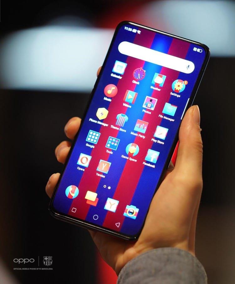 Edição Especial do smartphones Oppo Reno 10x Zoom