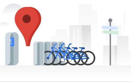 Google Maps recebe novo recurso: informações de compartilhamento de bicicletas em tempo real