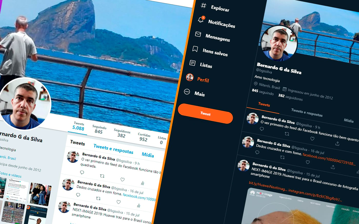 Twitter: Mudança de design no site é oficial e é para todos