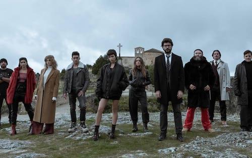 La Casa de Papel lança abertura da terceira temporada