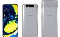 Galaxy A80 é lançado na Índia por R$2.620