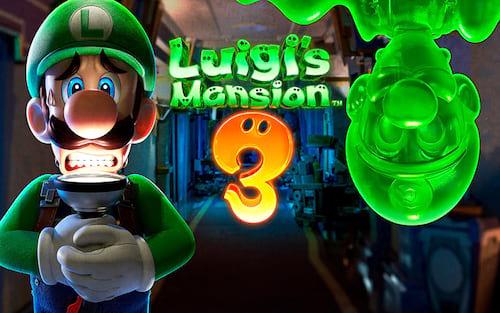 Luigi Mansion 3 será lançado no Halloween!