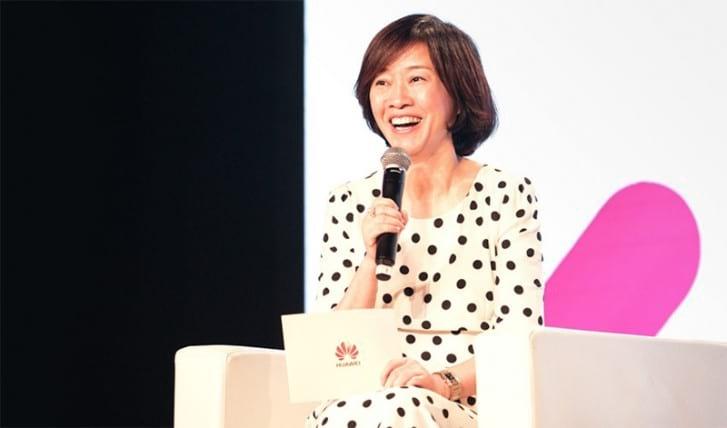 Catherine Chen, vice-presidente da Huawei e membro do Conselho Administrativo da empresa.
