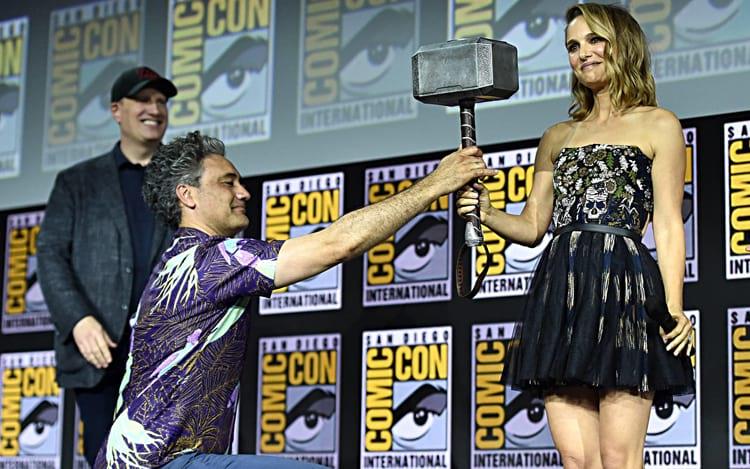 Natalie Portman será Lady Thor! Foto: divulgação Marvel