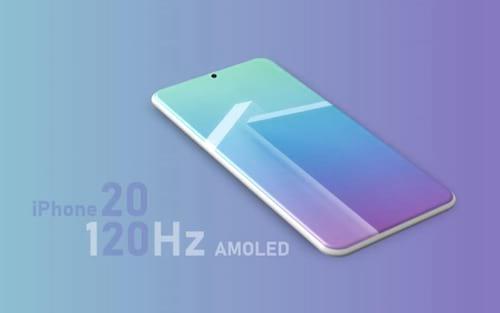 iPhone 2020 pode ter display com taxa de atualização de 120Hz