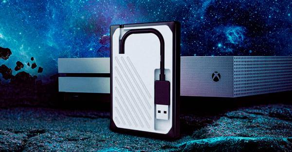 WD Gaming Drive Accelerated para Xbox One - SSD Externo de alta velocidade com cabo USB 3.0 integrado