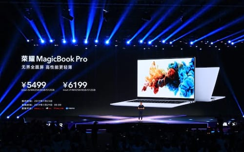 "Honor lança Magicbook Pro: Primeiro notebook do mundo a possuir 16,1"" com tela cheia"