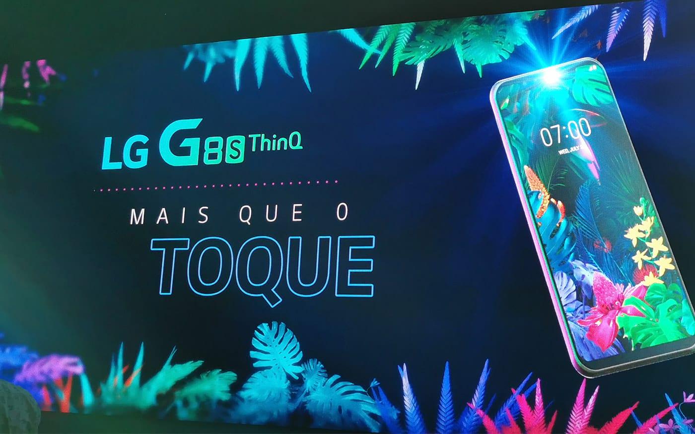 LG anuncia o LG G8s ThinQ no Brasil, por R$ 4.299