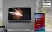 LG diz que smart TVs ganharão suporte ao AirPlay 2 e ao HomeKit na próxima semana