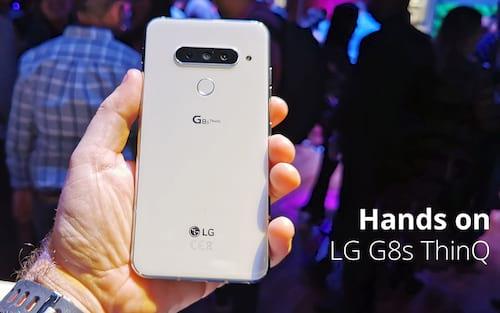 LG G8s ThinQ -  Vídeo Hands-on e primeiras impressões