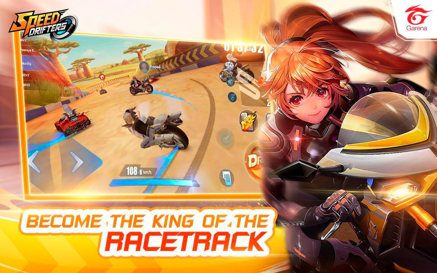 GArena Speed Drifters já está disponível para todos, Android e iOS