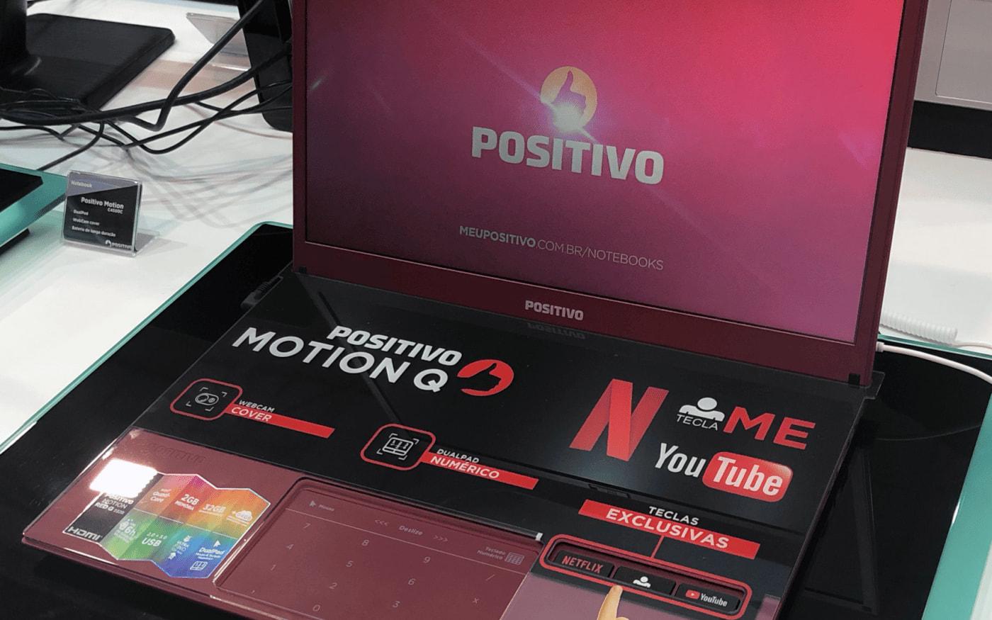 Positivo anuncia celular, tablet e notebooks na Eletrolar 2019