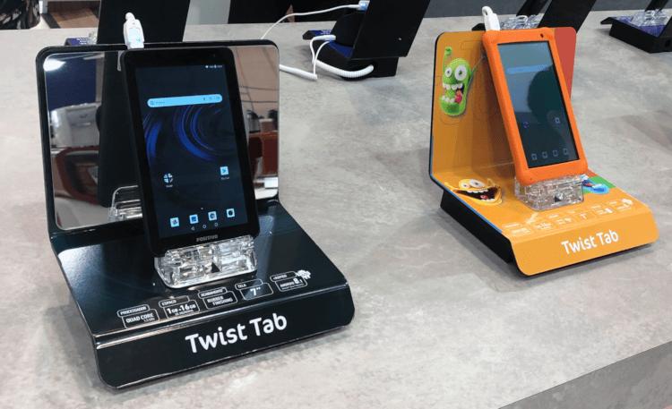 Twist Tabs na versão standard e kids.